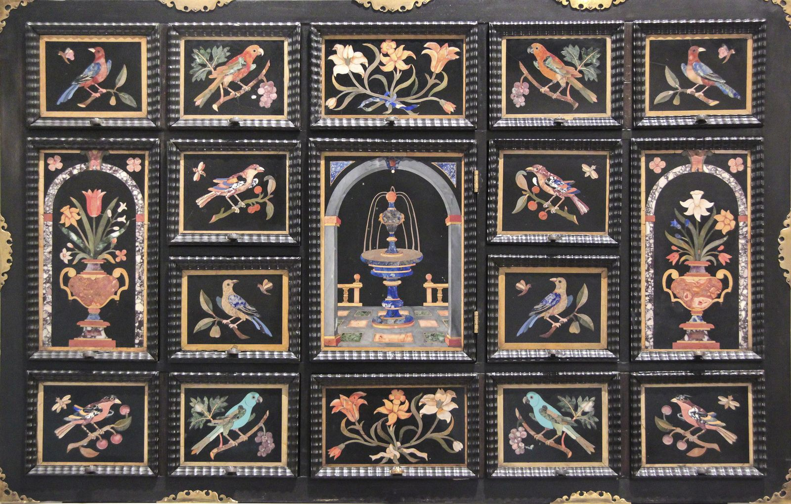 Cabinet, about 1650, using panels of 1600-50, cabinet-Northern Europe, panels-Florence-Italy | Flickr - Photo Sharing!