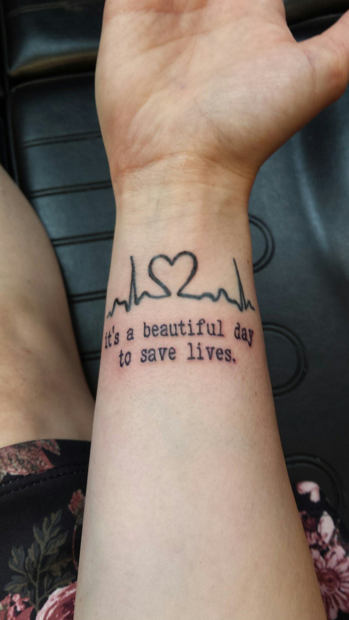 Love my nursing tattoo! … | Pinteres…