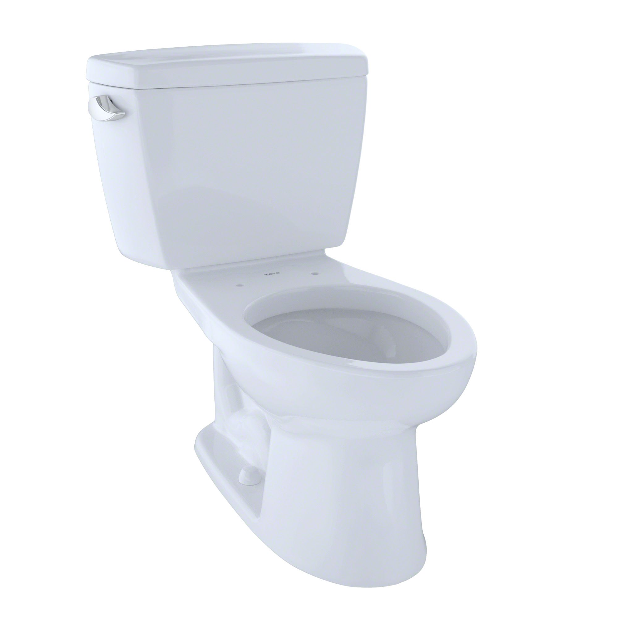 Toto Drake Two Piece Elongated 1 6 Gpf Universal Height Toilet For 10 Inch Rough In Cotton White Cst744sf 10 01 Toto Toilet Ada Toilet Toilet