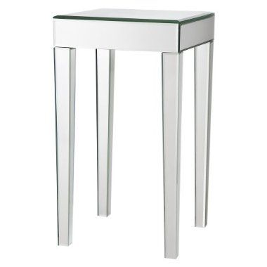Mirrored Side Table Target Stylesays