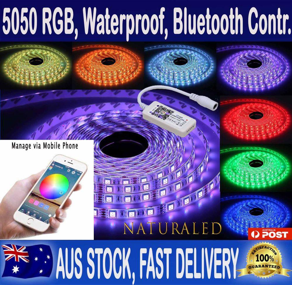 Rgb Led Strip Lights Ip65 Waterproof
