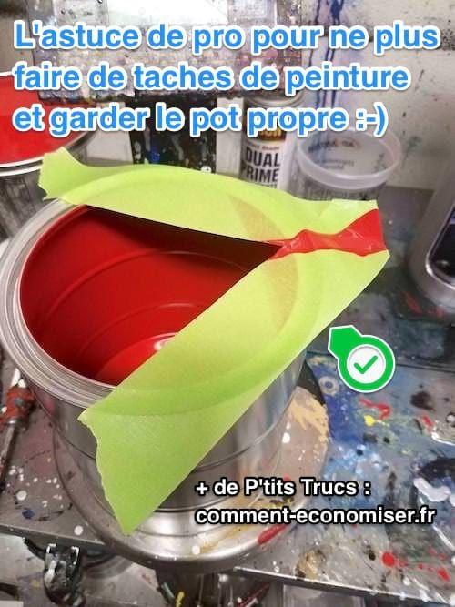 L\u0027Astuce De Pro Pour NE PLUS JAMAIS Faire de Taches de Peinture - Chambre De Commerce Franco Suedoise