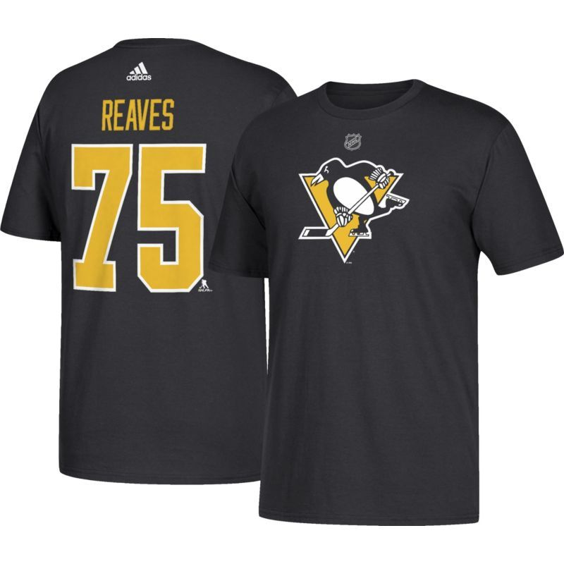 new product 8d64f 8732c adidas Men's Pittsburgh Penguins Ryan Reaves #75 Black T ...