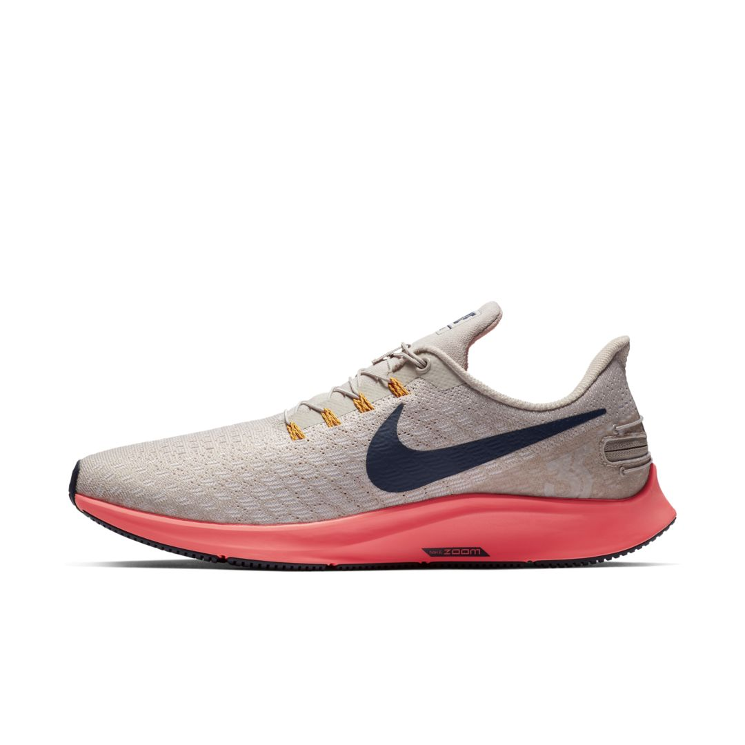 the latest 6c4bc 61330 Nike Air Zoom Pegasus 35 FlyEase Men s Running Shoe Size 10.5 (Moon  Particle)