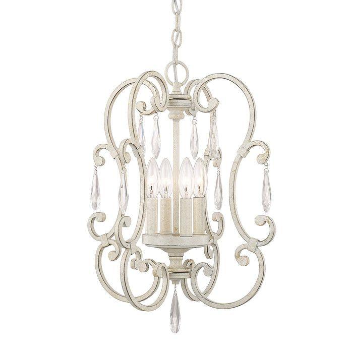 Office house of hampton oriana 4 light mini chandelier reviews wayfair
