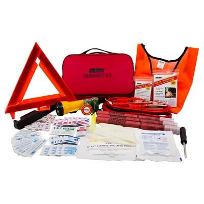Orion Deluxe Roadside Emergency Kit 79 Pieces Multi