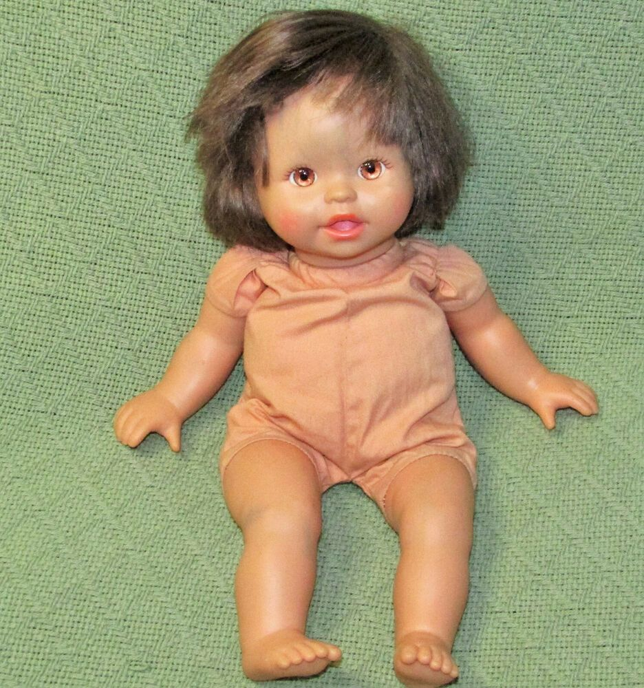 14 Little Mommy Mattel 2007 Doll Soft Body Brown Hair Eyes Baby Doll Teeth Toy Mattel Dolls Mattel Baby Dolls