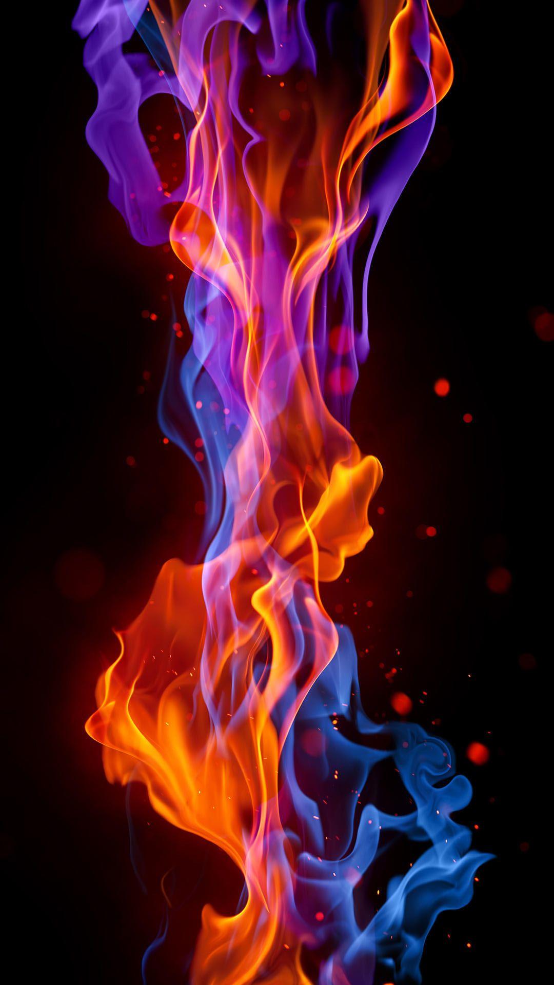 Fire Iphone Wallpaper Hd 画像あり 炎 イラスト ホーム画面