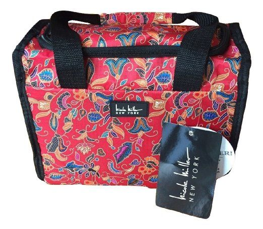 Nicole Miller Insulated Lunch Tote With Sandwich Box And Cooler Pack