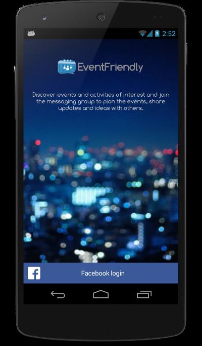 Eventfriendly - Mobile App
