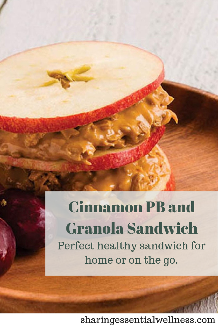 Easy Apple and Granola Sandwich Recipe images