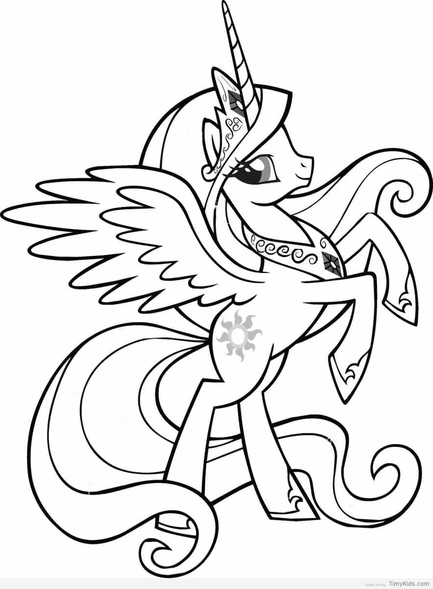 princess celesia my little pony coloring pages printable and coloring book to print for free Find more coloring pages online for kids and adults of