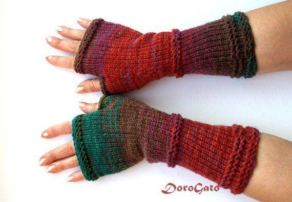 Knit Gloves Pattern Fingerless Gloves Pattern Glove By Patternsdg