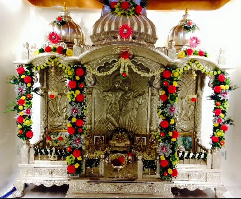 Janmashtami Decoration Ideas Puja Room Hindu Altars Pinterest Krishna Janmashtami
