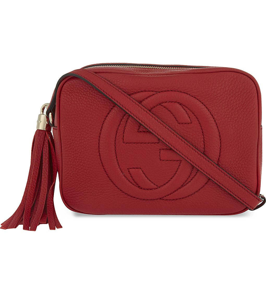 99505dee826 GUCCI Soho leather cross-body bag - Sale! Up to 75% OFF! Shop at Stylizio  for women s and men s designer handbags