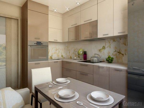 кухонные гарнитуры в кухню 10 кв.м фото