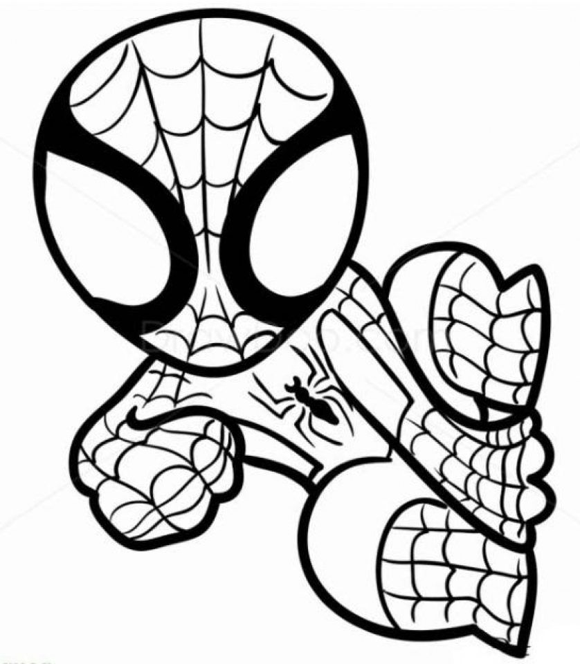Coloring Pages Superheroes Amazing Design