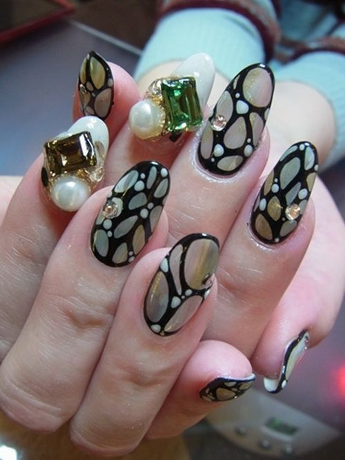 JAPANESE 3D NAIL ART | BestStylo.com | Nails | Pinterest | 3d nail ...