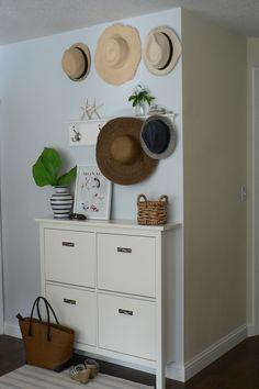 Ikea Hemnes Shoe Cabinet - hidden storage solutions for shoes . & Ikea Hemnes Shoe Cabinet - hidden storage solutions for shoes ...