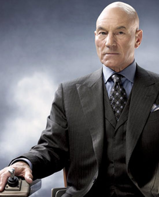 Patrick Stewart Professor Xavier X Men Jpg 550 679 Professor X X Men Man Movies