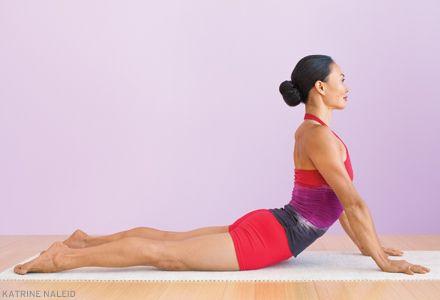 practice safe stretch in cobra  cobra pose yoga poses poses