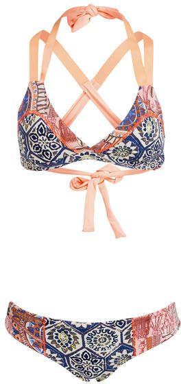 a482d0bfc2 Maaji Neckholder-Bikini SOUTHERN PACIFIC zum Wenden blau