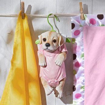 Design Toscano Hanger Hound Labrador Retriever Hanging Puppy Dog Statue - Walmart.com