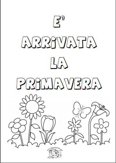 Schede Didattiche Sulla Primavera Roční Období Pinterest