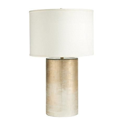 Gold Ombre Cylinder Base Table Lamp Table Lamp Lighting