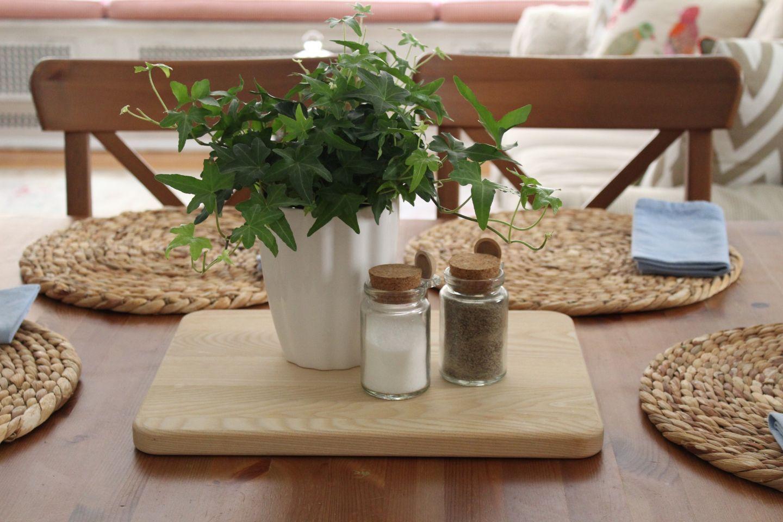 Alltägliche Tischdekoration Ideen Für Zu Hause Kitchen Table Decor Everyday Kitchen Table Centerpiece Dining Table Decor Everyday