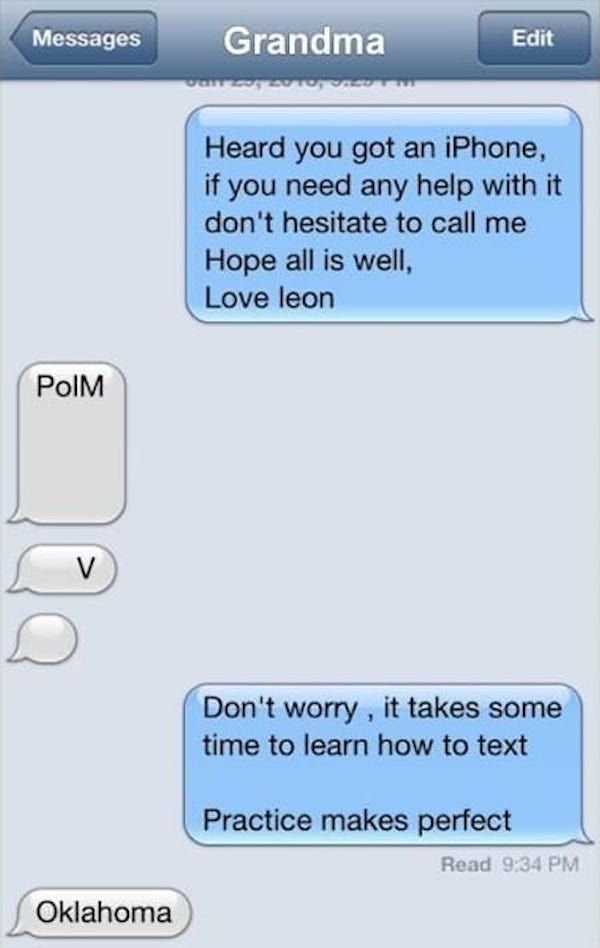 Good text message conversations