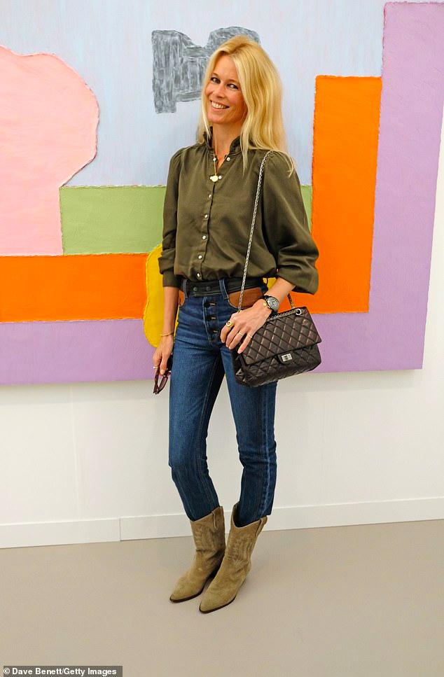 Claudia Schiffer Has Never Felt More Confident As She Turns 50 Claudia Schiffer Fashion Supermodels