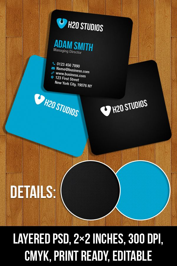 Free PSD Mini Business Cards Free Vectors Pinterest Business - Mini business card template