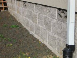 Block Skirting For Manufactured Homes Has Benefits Mobile Home