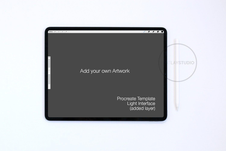 Ipad Pro Mockup Apple Pencil 155 Apple Pencil Procreate Lettering Poster Mockup