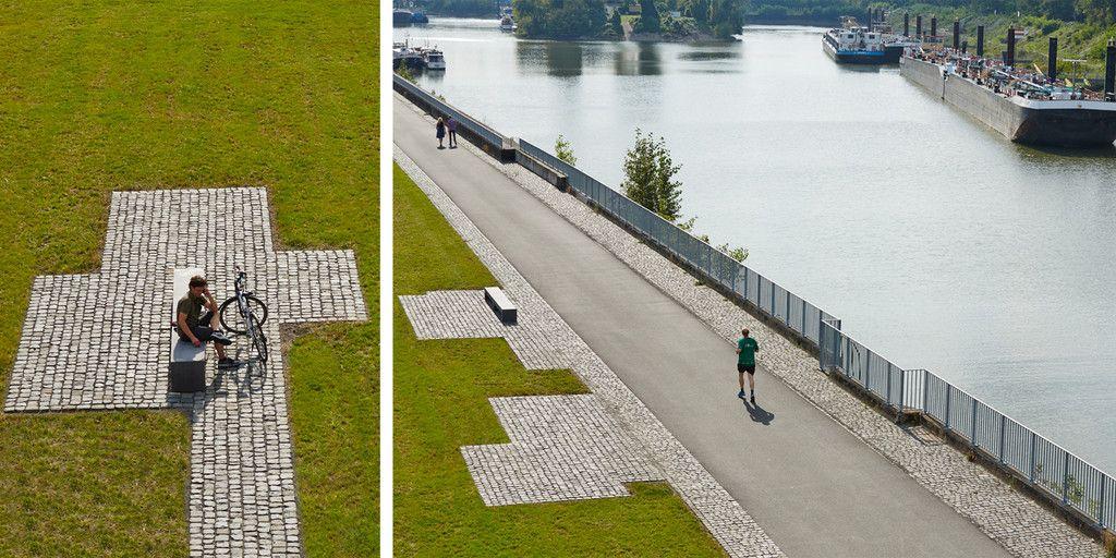 Landschaftsarchitekten Köln l94 landschaftsarchitekten rheinboulevard mülheim köln