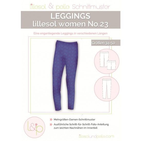 Lillesol & Pelle - Schnittmuster - Lillesol Women No. 23 - Leggins ...