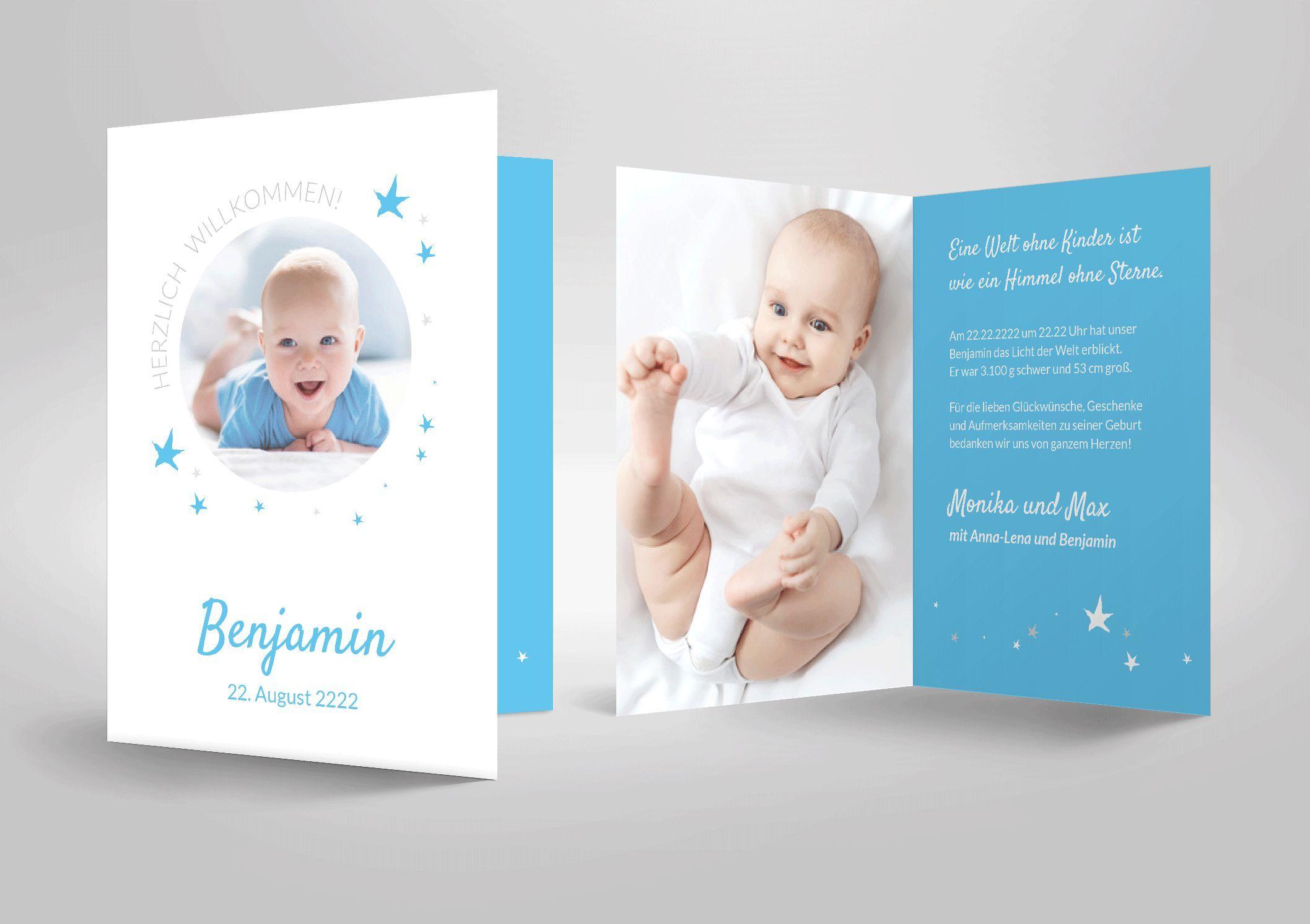 Geburt Dankeskarten Geburt Dankeskarten Spruch Danksagung