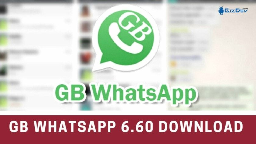 Download Latest GB WhatsApp 7.00 MOD For Android BIG