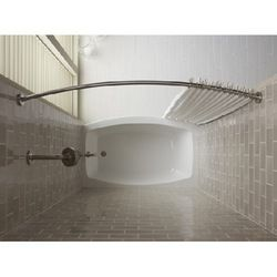K9349 S Expanse Shower Rod Shower Curtain Rod Polished Stainless