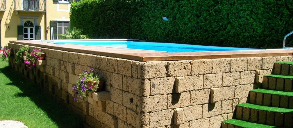 Copertura fai da te piscina fuori terra cerca con google yard and garden pinterest - Piscina fai da te ...