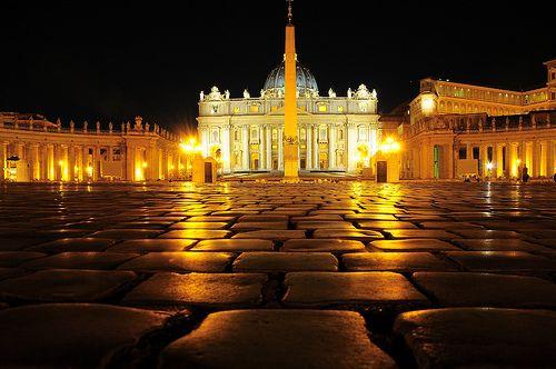 The Vatican - check!