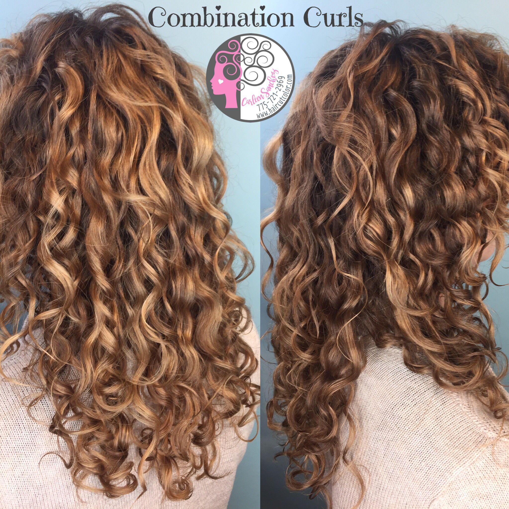 Pintura and Balayage highlights and custom naturally Curly ...