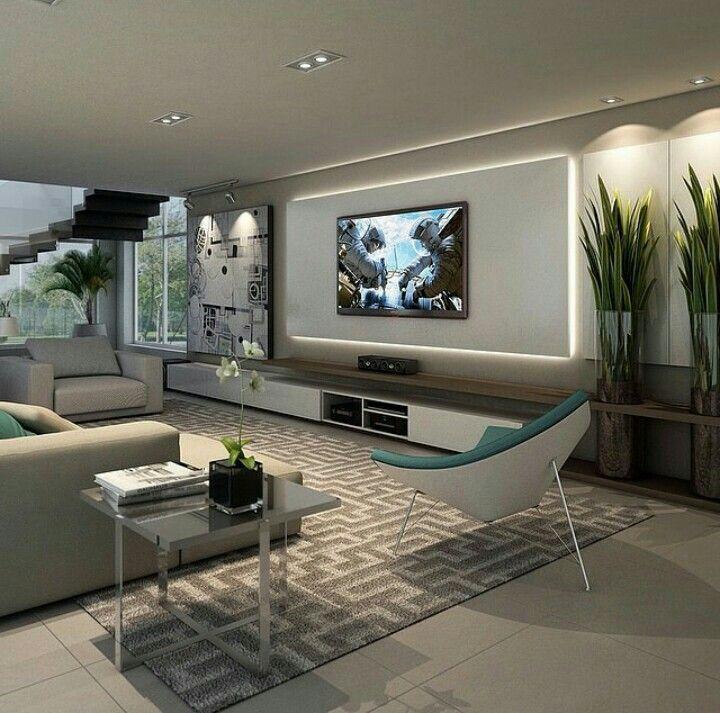 Mueble Living Tv Living Room Theaters Room Design