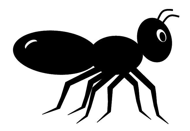 black ant clip art cute style lge 11cm long svg pinterest rh pinterest com clip art antique cars clip art ants and spiders