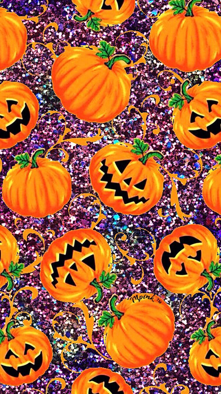 Cute Pumpkins Wallpaper iPhone/Android Wallpaper pattern