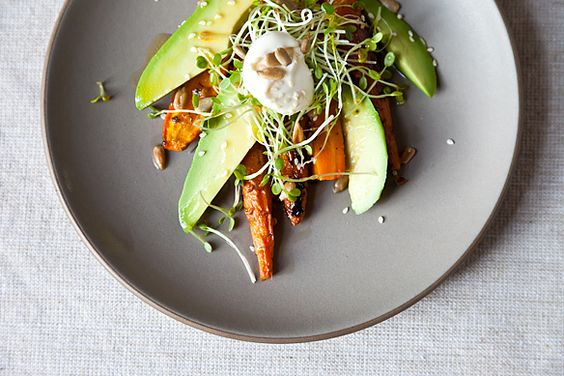 ABC Kitchen's carrot avocado salad