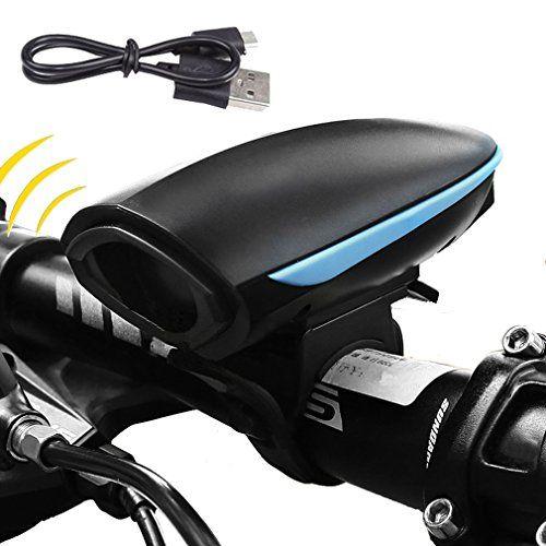 Bike Horns Kewayo Usb Rechargeable 140 Decibels Bike Horn Super