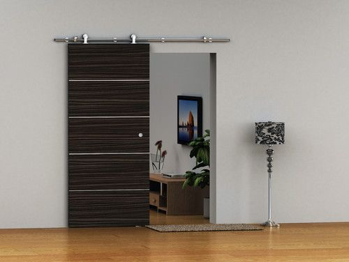 European Stainless Steel Barn Door Hardware For Wood Door Modern
