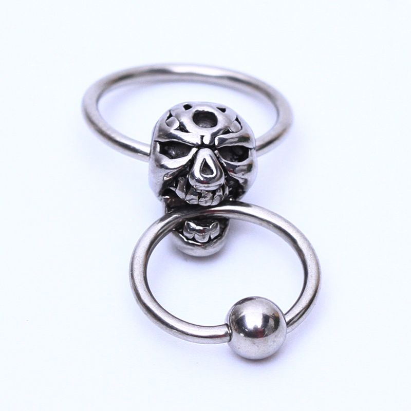 Stainless Steel Ball Closure Ring BCR Eyebrow Helix Tragus Nose Lip Piercing